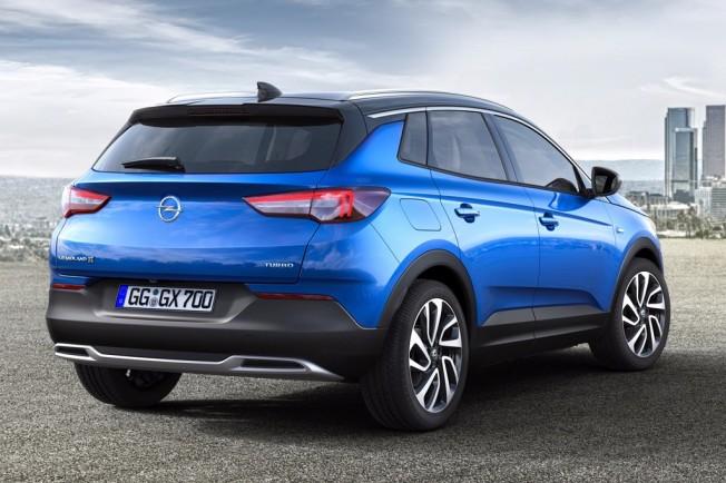 Opel Grandland X 2018 - posterior