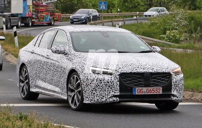 Opel Insignia OPC 2018 - foto espía
