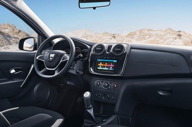 Dacia Logan MCV Stepway 2017 - interior
