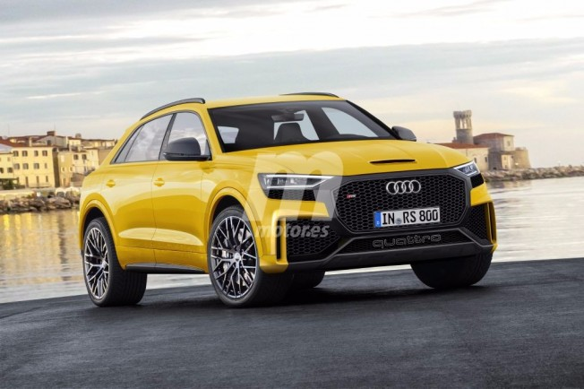 Audi RS Q8 - recreación