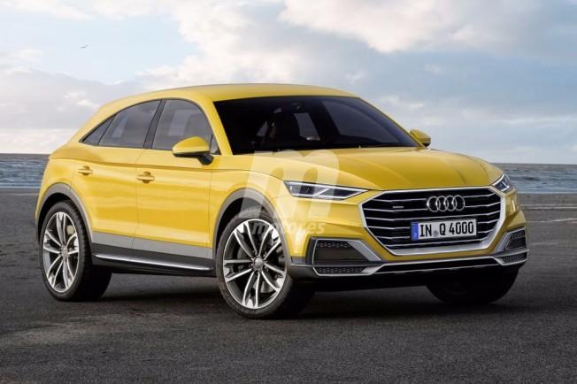 Audi Q4 - recreación