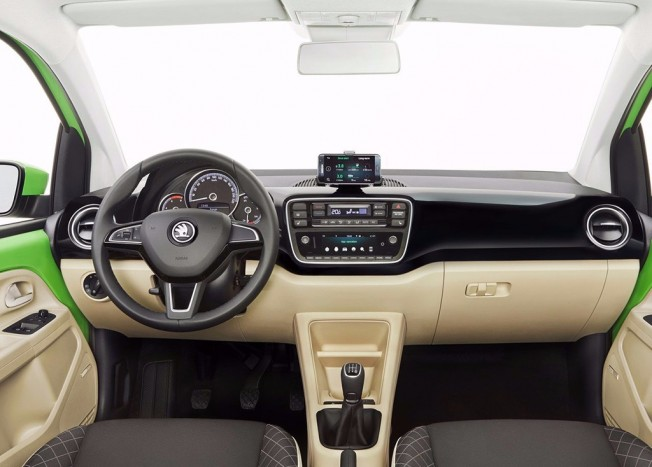 Skoda Citigo 2017 - interior
