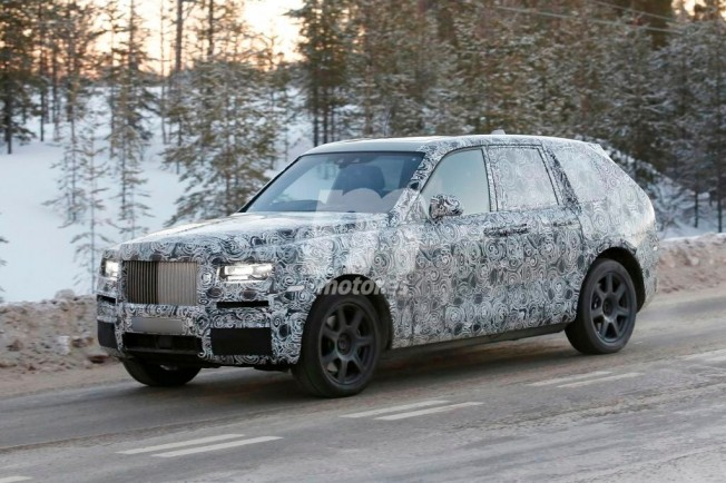 Rolls-Royce Cullinan 2018 - foto espía