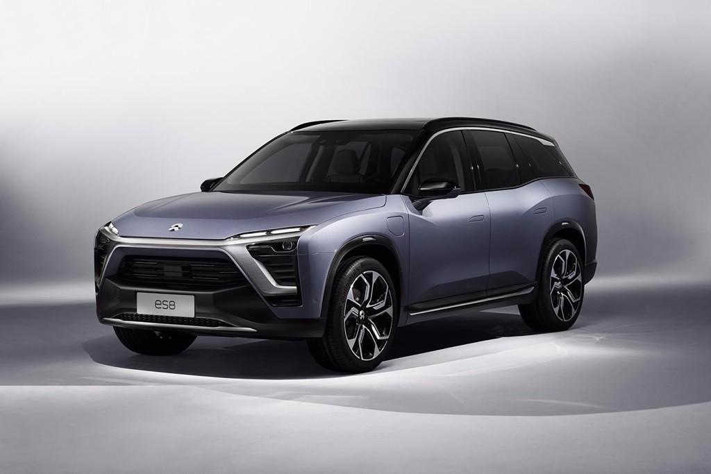 Nio ES8: se desvela el SUV de 7 plazas del fabricante chino de coches eléctricos
