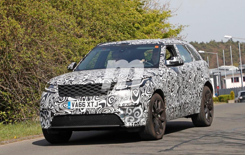 Range Rover Velar SVR: las primeras imágenes de la nueva versión deportiva SVR