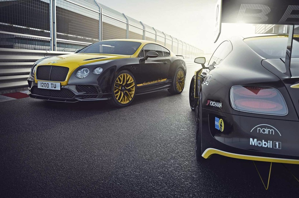 Bentley Continental 24: una edición limitada basada en el Supersports