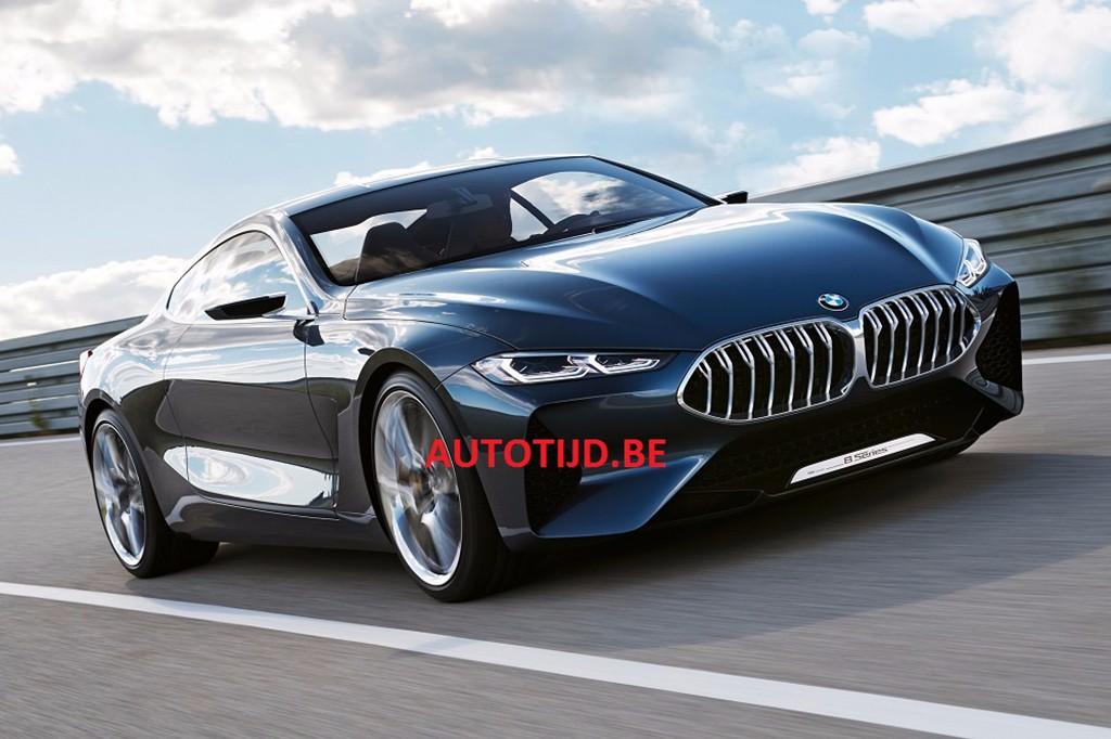 BMW Serie 8 Concept 2017: filtrado antes de su debut en Villa d'Este