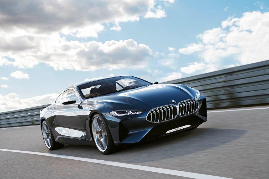 BMW Serie 8 Concept: desvelado oficialmente antes de Villa d'Este