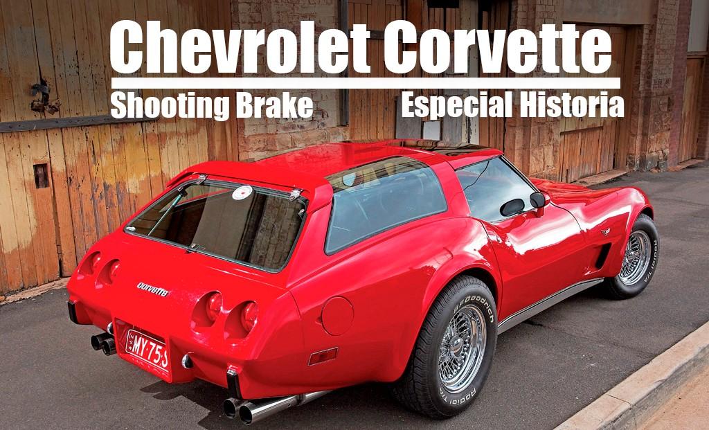 Chevrolet Corvette: Las raras variantes shooting brake de la historia del 'Vette