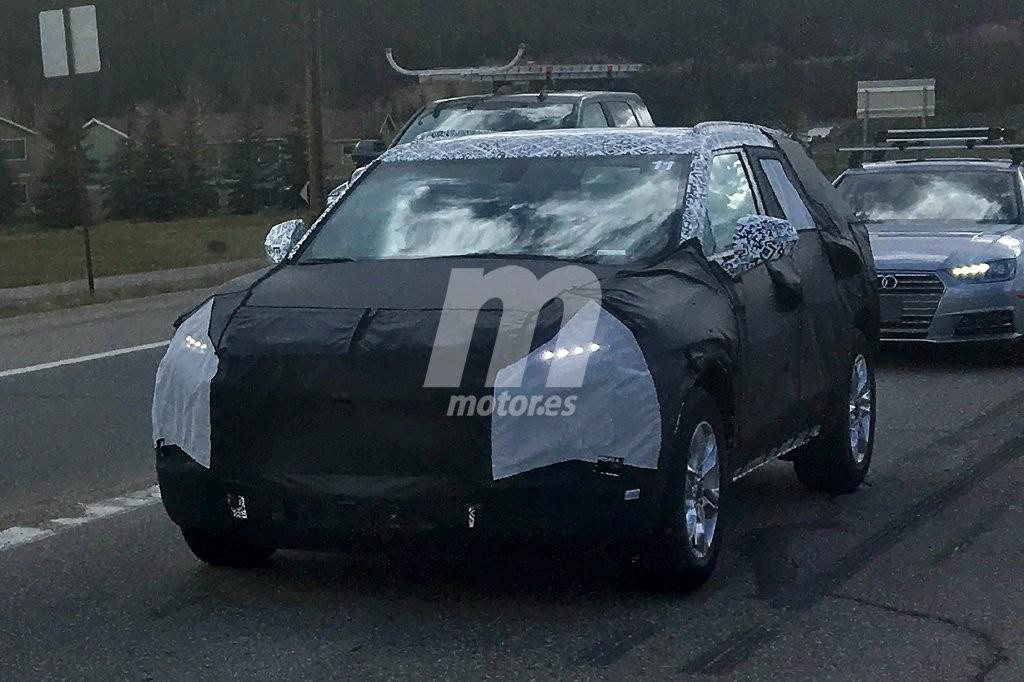 Chevrolet Blazer 2019: las primeras imágenes del nuevo crossover