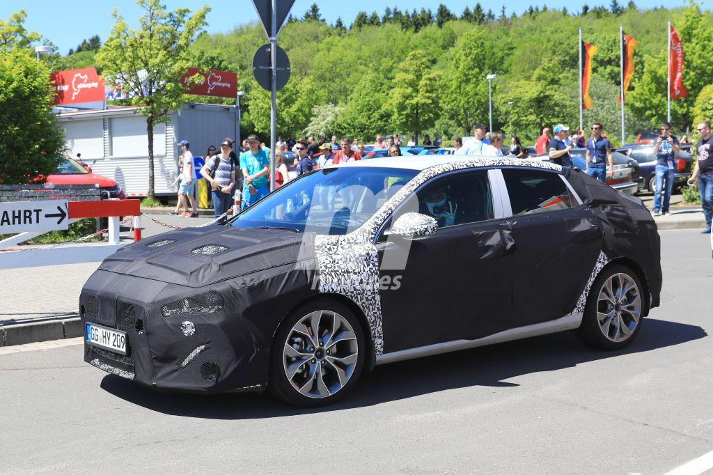 El nuevo Hyundai i30 Fastback al detalle durante su paseo en Nürburgring