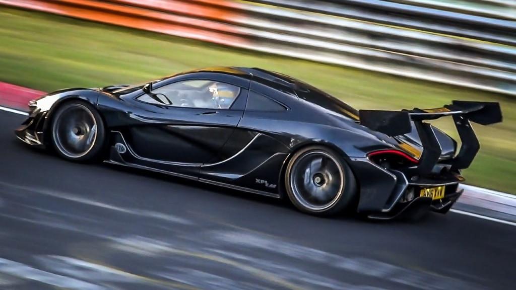 El McLaren P1 LM de Lanzante rompe el récord de Nürburgring para vehículos de calle