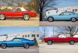 2010 Spring Classic Collection: colección de clásicos y Muscle Cars con un historial de lo más extraño