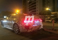 Cazamos el nuevo Audi A8 en España