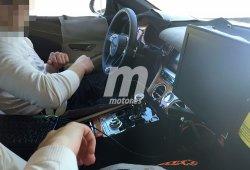 Bentley Continental GT 2018: el interior comienza a perder camuflaje