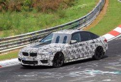 BMW M5 2018: el nuevo M5 F90 ultima su desarrollo en Nürburgring