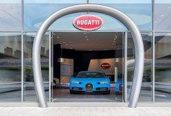 Bugatti abre el concesionario más grande de su historia en Dubái