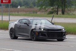 Chevrolet Camaro 2019: cazamos la nueva gama 2019 al completo