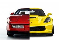 Corvette 1987 vs. Corvette 2017: evolución del Corvette en 30 años