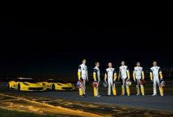 Corvette cierra su alineación para las 24 Horas de Le Mans