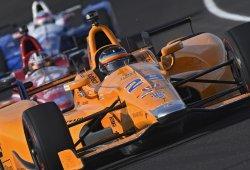 [Vídeo] Día 2 en Indianápolis: Alonso comienza a rodar con tráfico