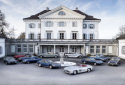La colección de clásicos abandonada que aparecía en un castillo suizo vendida al completo