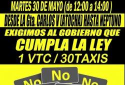 Difícil solución para el conflicto entre taxistas, Uber y Cabify