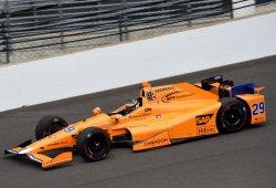 Fernando Alonso peleará por la pole el domingo; Ed Carpenter el más veloz