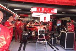 Ferrari cambia el motor de combustión de Vettel por precaución