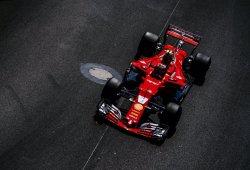 Ferrari conquista la primera fila de salida en el Principado