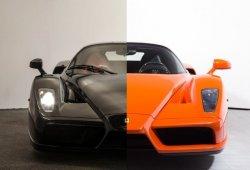 Dos unidades muy raras del Ferrari Enzo a la venta: ¿naranja o negro?