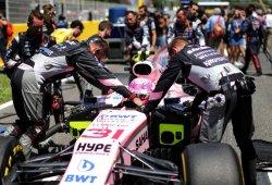 Force India se hace ver: nuevos dorsales tras la sanción