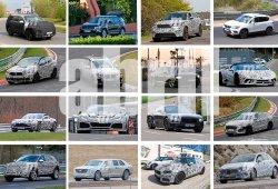 Volkswagen T-ROC, SEAT Ateca Cupra y Range Rover Velar SVR: fotos espía Abril 2017