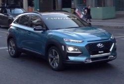 Hyundai Kona 2018: nuevas fotos y vídeo espía sin camuflaje