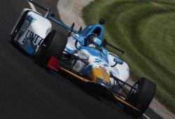Marco Andretti lidera el primer día de libres; Servià 11º, Alonso 19º
