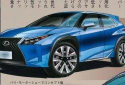 Lexus UX: la prensa japonesa afirma que llegará a finales de 2018