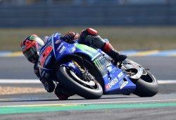 Maverick Viñales surca el caos y suma la pole del GP de Francia