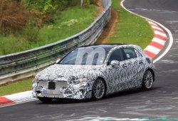 Mercedes Clase A 2018: la nueva generación se enfrenta a Nürburgring