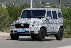 Mercedes Clase G 2018: nuevas imágenes de la próxima generación