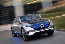 Mercedes presentará un nuevo EQ Concept en el Salón de Frankfurt 2017