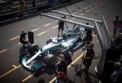 Mercedes se equivoca con la puesta a punto y lo paga caro