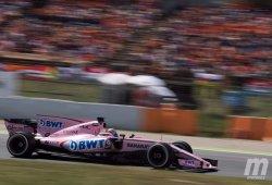 Multa de 25.000 euros en suspenso a Force India por no mostrar correctamente los números