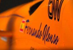 Así son el casco y el coche de Alonso para la Indy 500