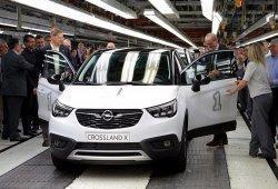 Opel Crossland X: se inicia su producción en la planta de Zaragoza