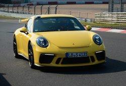 Porsche 911 GT3 2018: ya es el Porsche de producción en serie más rápido en Nürburgring
