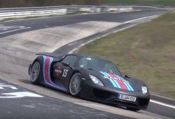 El Porsche 918 Spyder vuelve a Nürburgring, ¿a recuperar su corona?