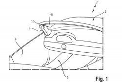 Porsche patenta un airbag en el pilar A especial para descapotables