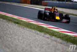 Verstappen vuela con el renovado Red Bull