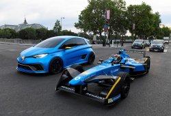 El brutal Renault ZOE e-Sport Concept de 460 CV se da un paseo por París