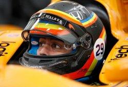 [Directo] Primer test de Fernando Alonso en Indianápolis